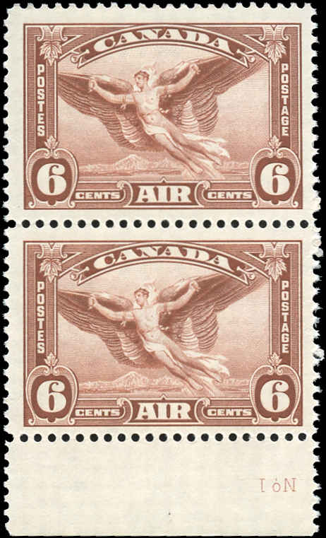 Canada #C5, Airmail Issue, VF, MNH.