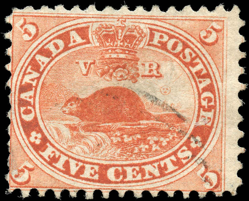 Canada ##15, First Cents Issue, VG-F, Used