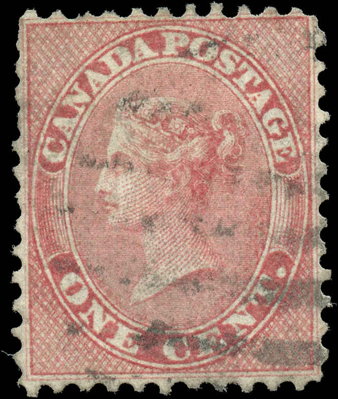 Canada ##14, First Cents Issue, F-VF, Used