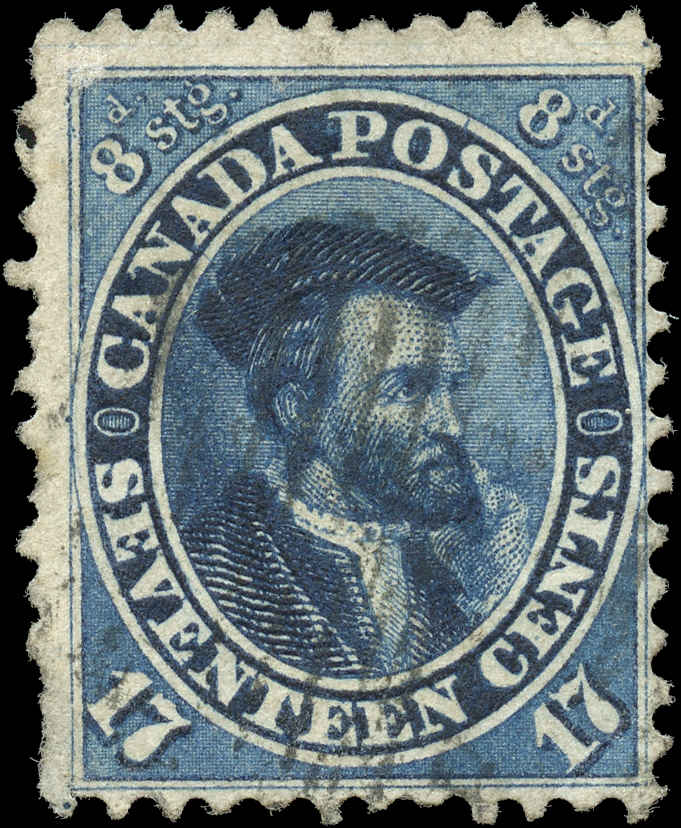 Canada ##19, First Cents Issue, F+, Used