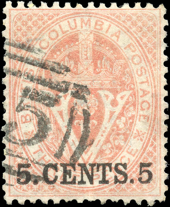 Colony-BNA-British Columbia ###9, F, Used