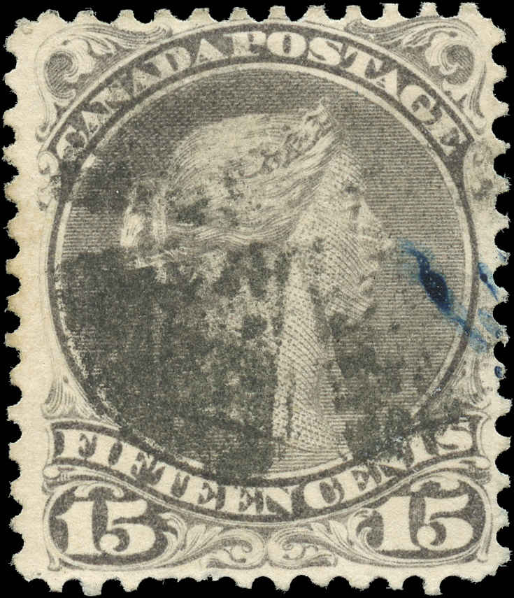Canada ##30a, Large Queen Issue, F, Used