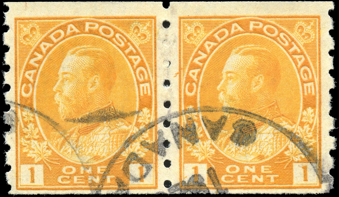 Canada #126, Admiral Issue, F+, Used