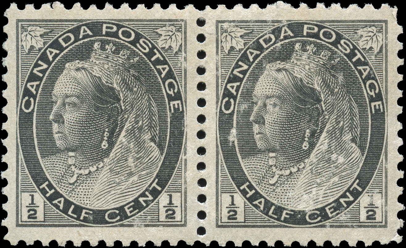 Canada ##74, Numeral Issue, VF, MH