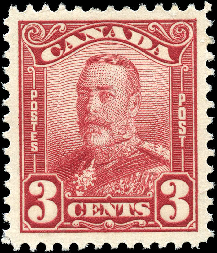 Canada #151, Scroll Issue, F-VF, MH