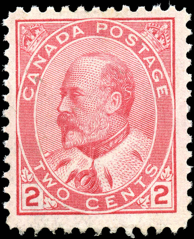 Canada ##90, King Edward VII Issue, F+, MH