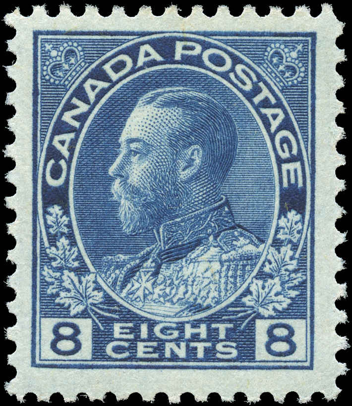 Canada #115, Admiral Issue, F-VF, MH