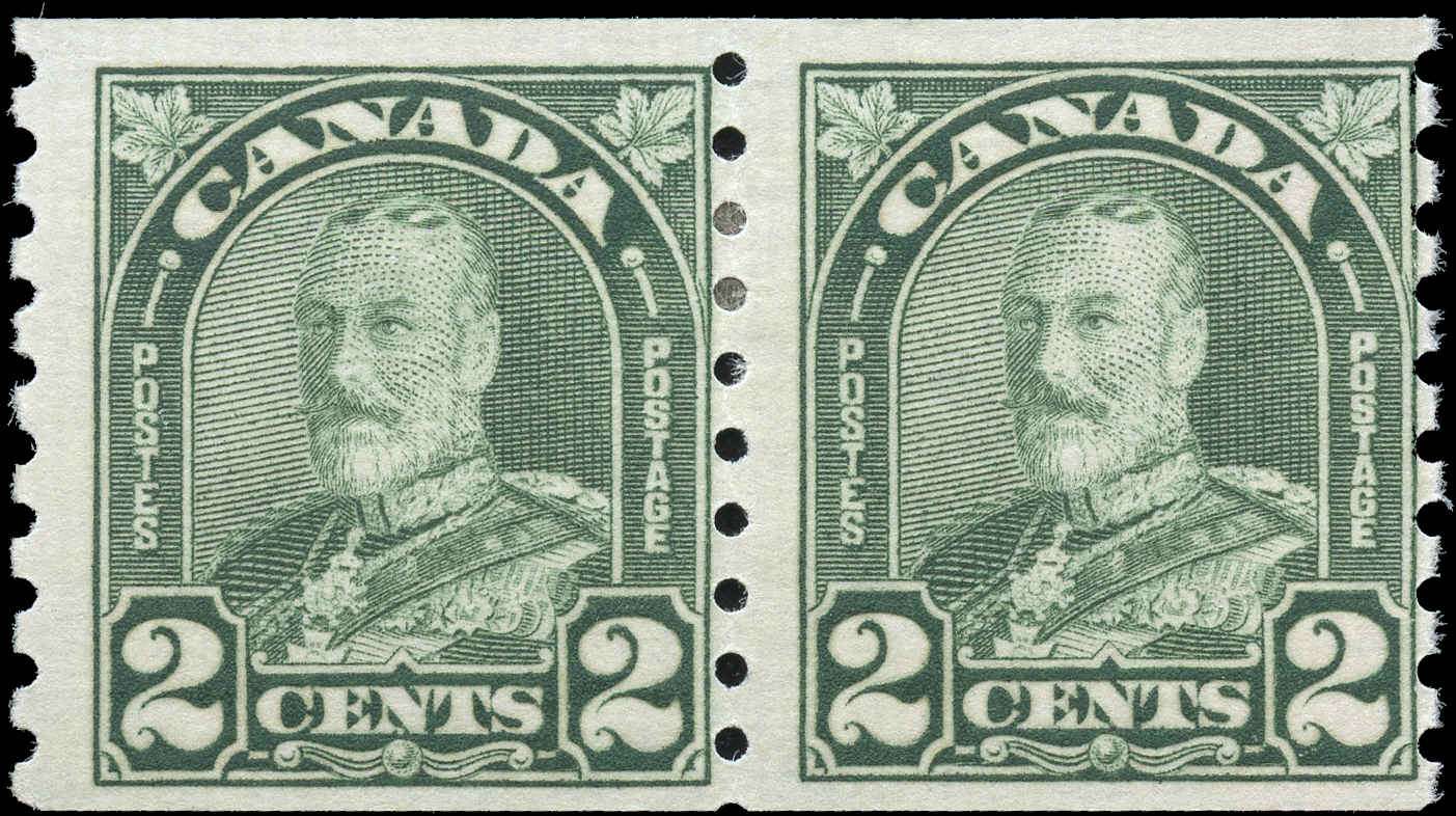 Canada #128, Admiral Issue, F+, MH