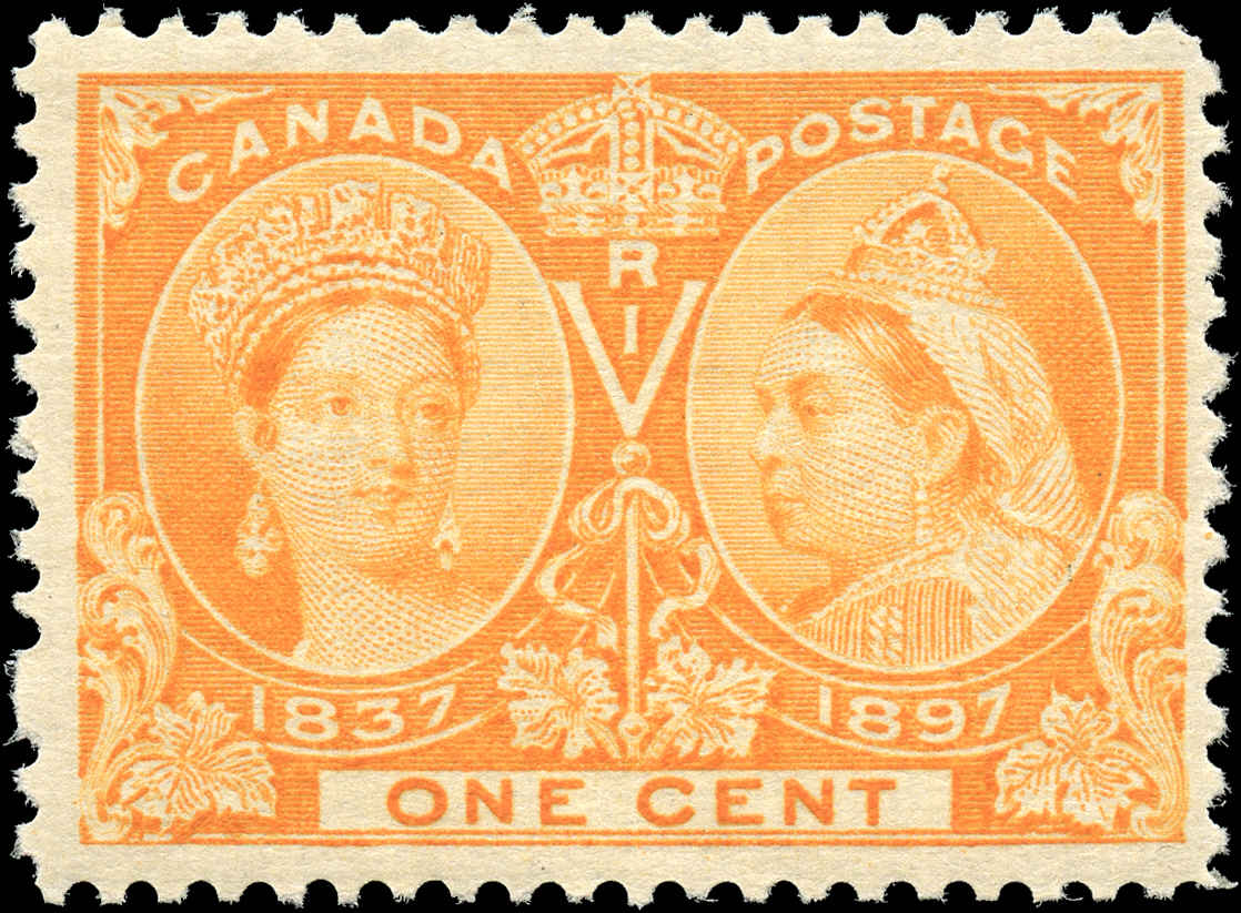 Canada ##51, Jubilee Issue, F+, MH