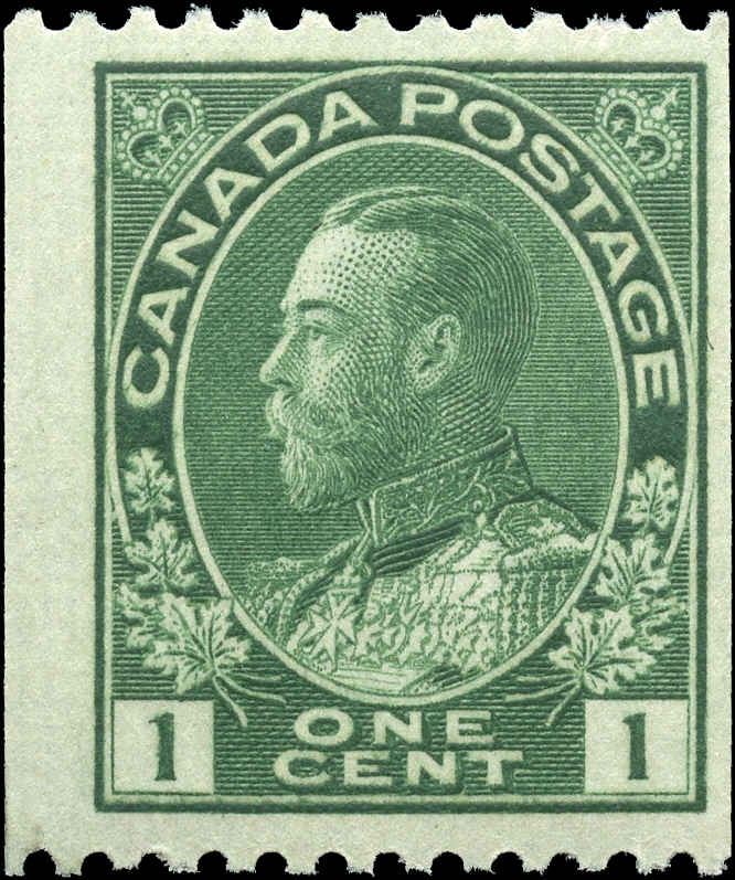 Canada #131, Admiral Issue, F+, MNH
