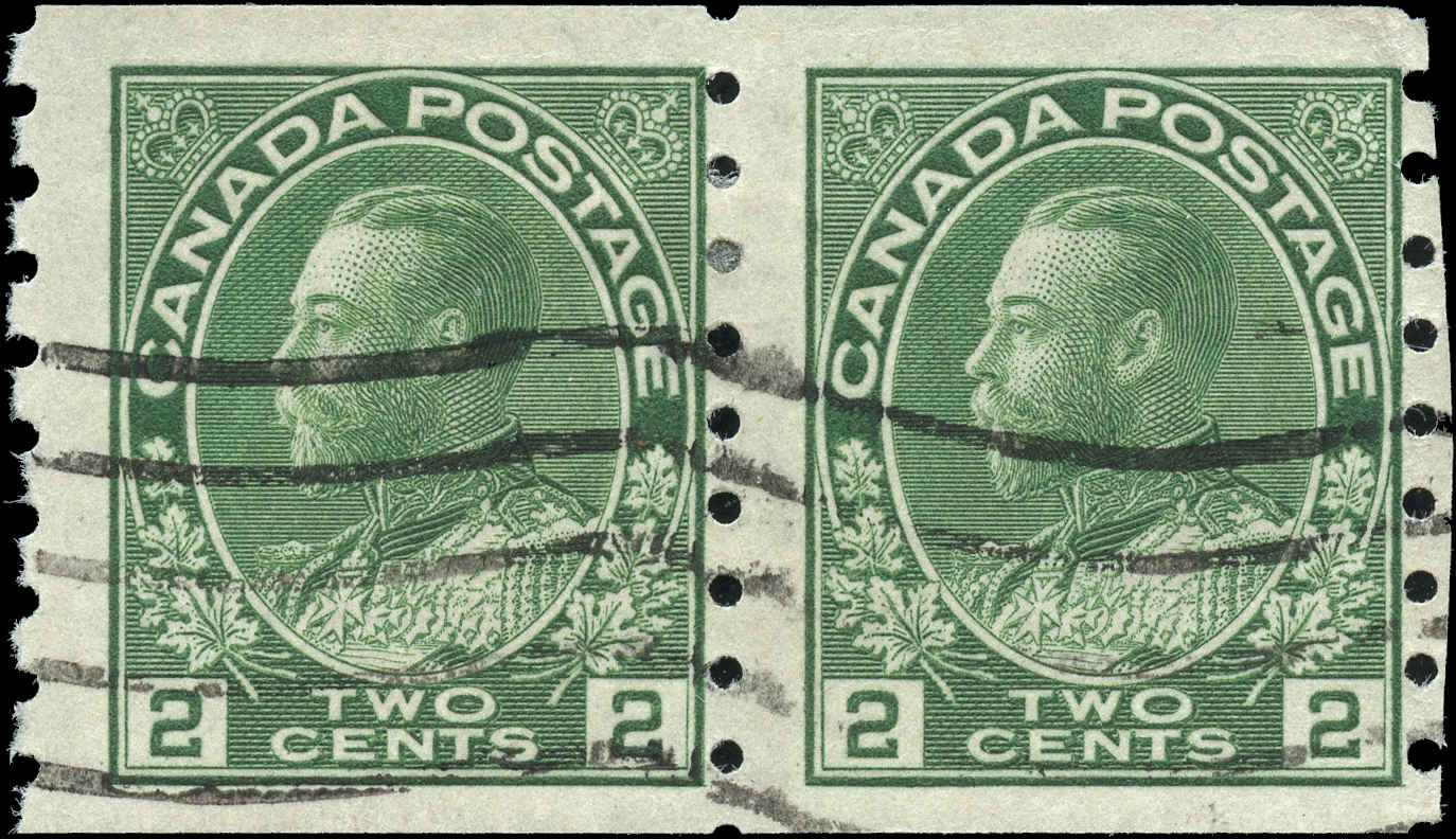 Canada #128, Admiral Issue, F, Used