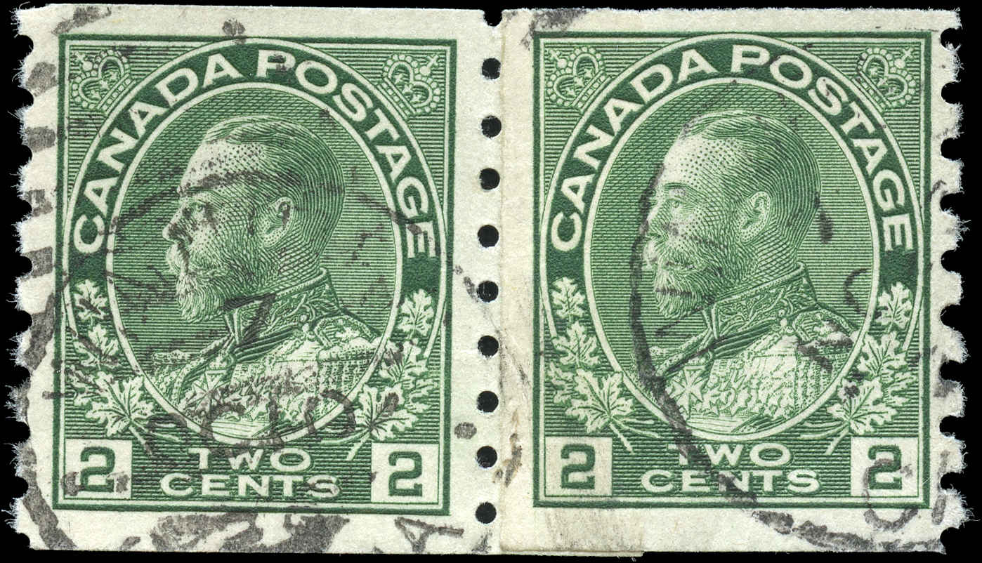 Canada #128i, Admiral Issue, F-VF, Used