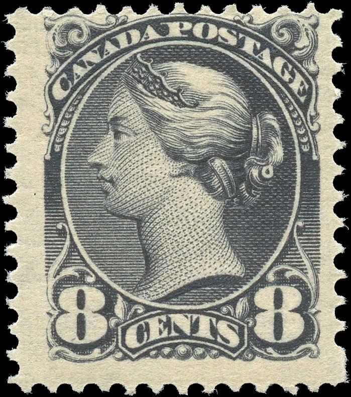 Canada ##44, Small Queen Issue, F, MH