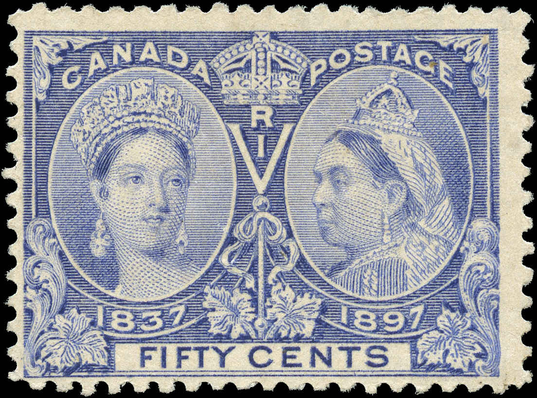 Canada ##60 Jubilee Stamp F+ Mint NG