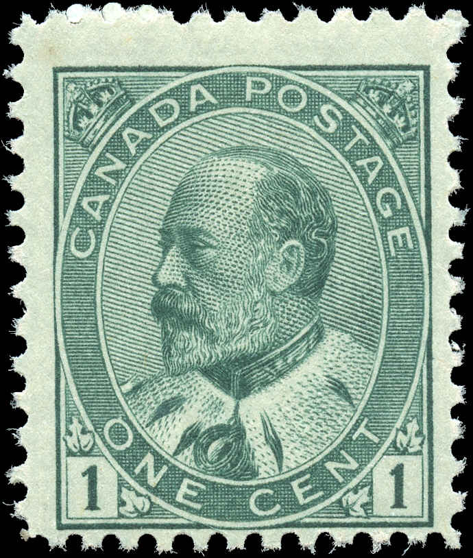 Canada ##89, King Edward VII Issue, F, MNH