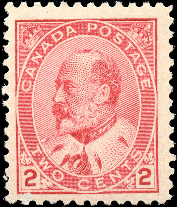 Canada ##90i, King Edward VII Issue, F+, MNH