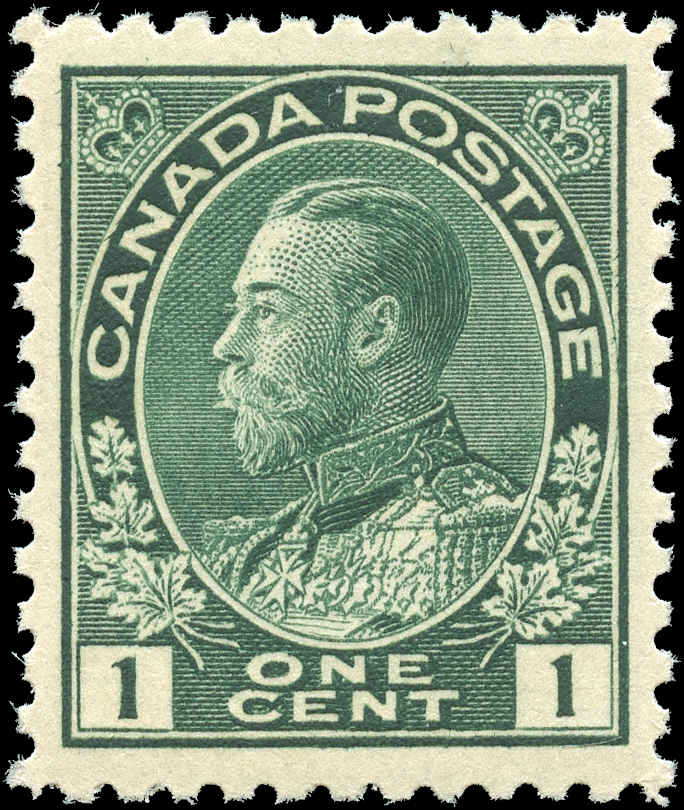 Canada #104, Admiral Issue, VF, MNH