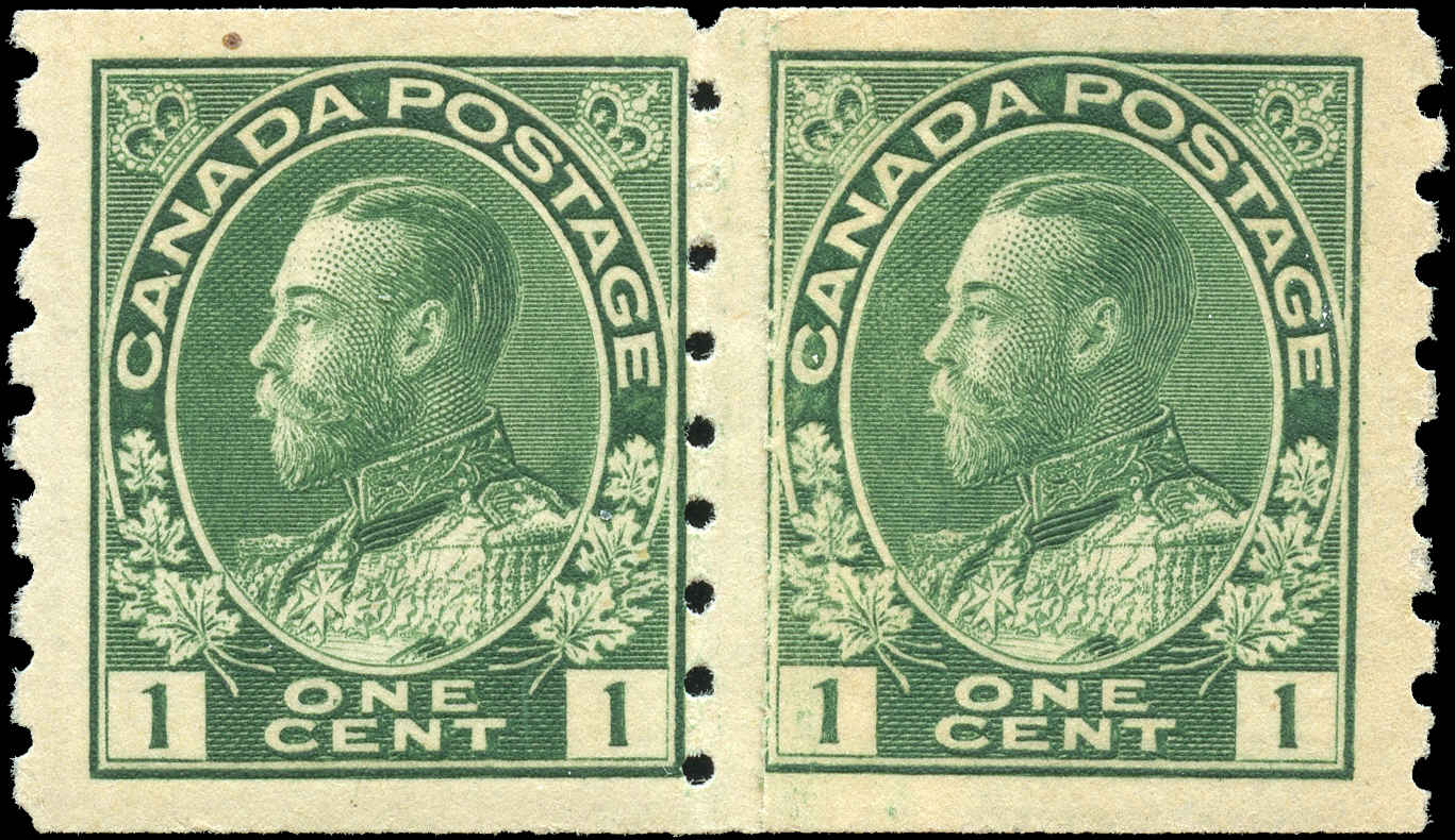 Canada #125i, Admiral Issue, F-VF, MH