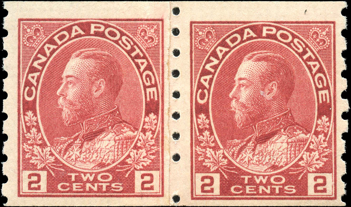 Canada #127i, Admiral Issue, F+, MNH