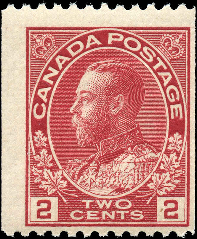 Canada #132, Admiral Issue, F, MNH