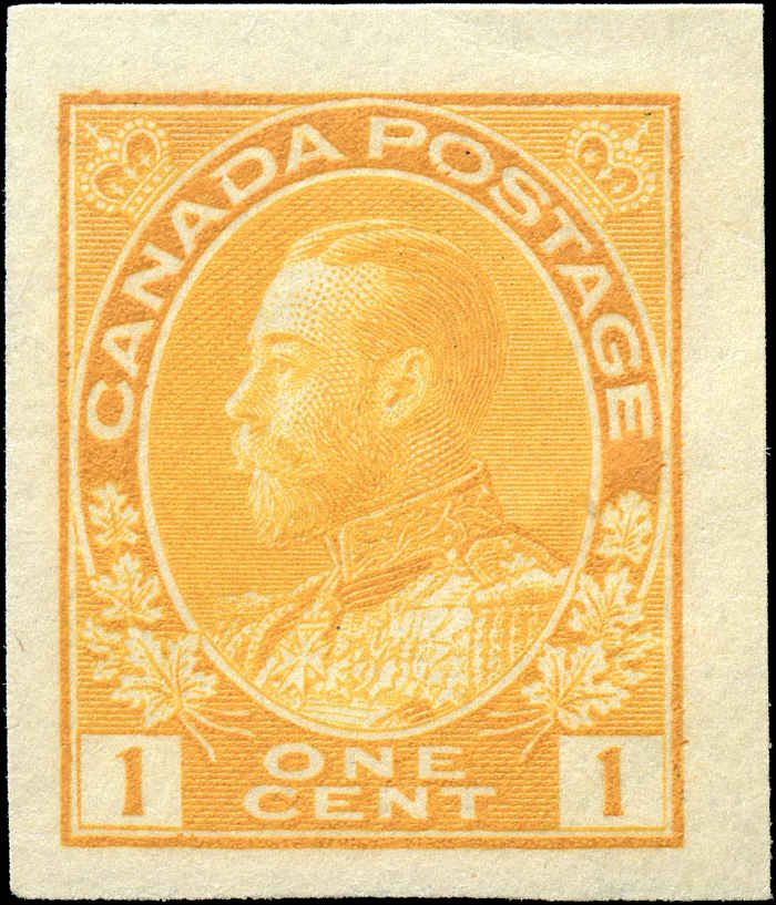 Canada #136, Admiral Issue, F-VF, MNH