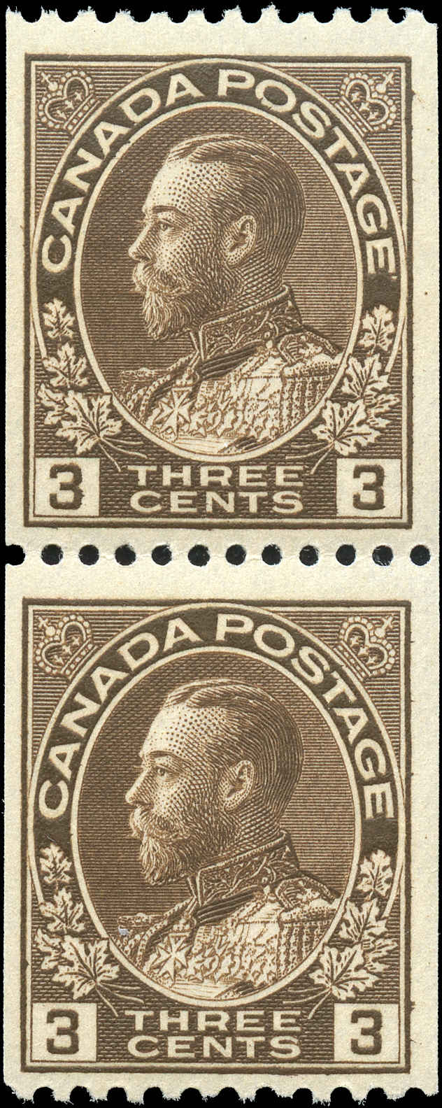 Canada #134 Admiral Stamps F-VF Mint NH