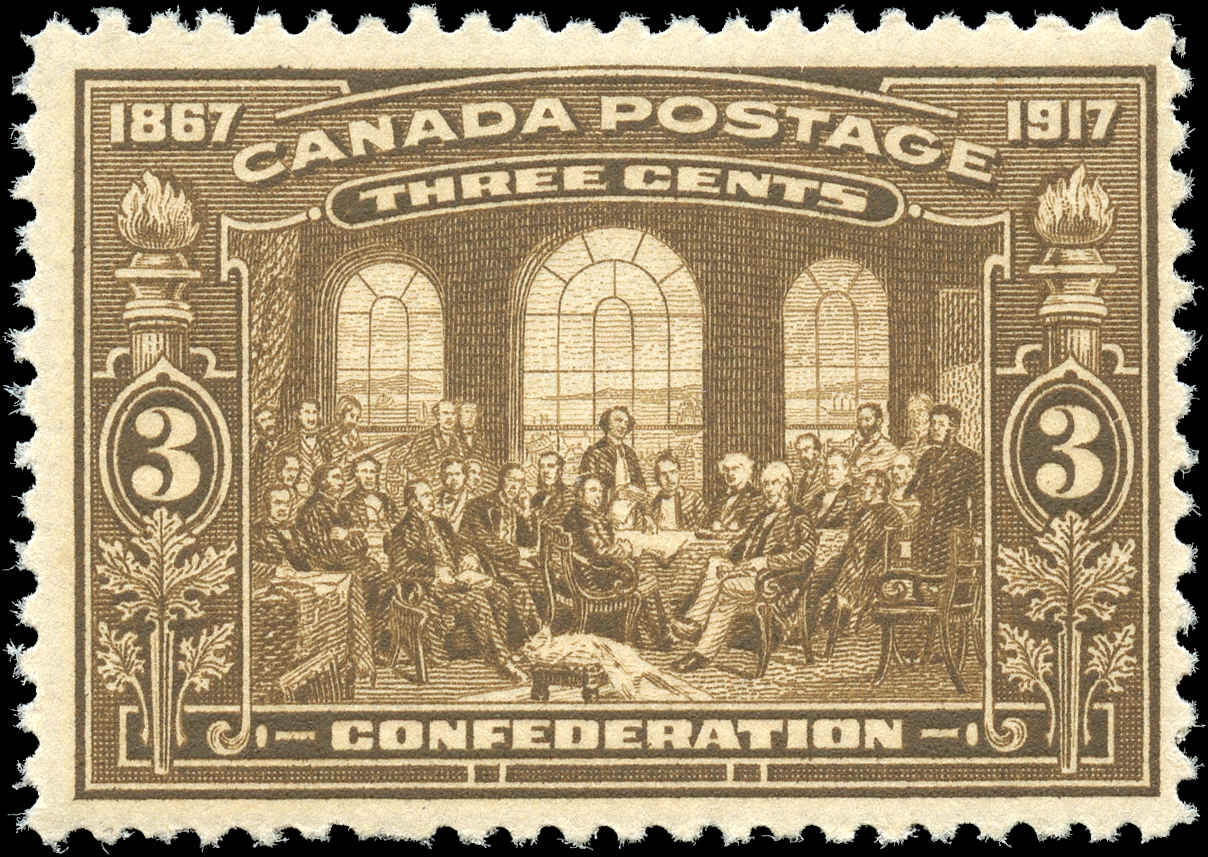 Canada #135, Confederation Issue, F+, MNH