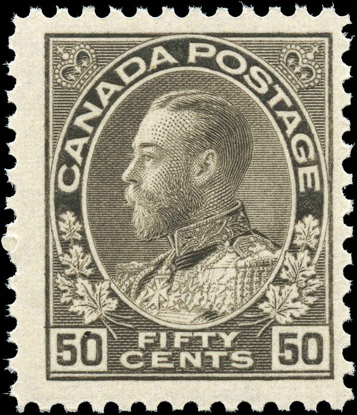 Canada #120, Admiral Issue, F+, MNH