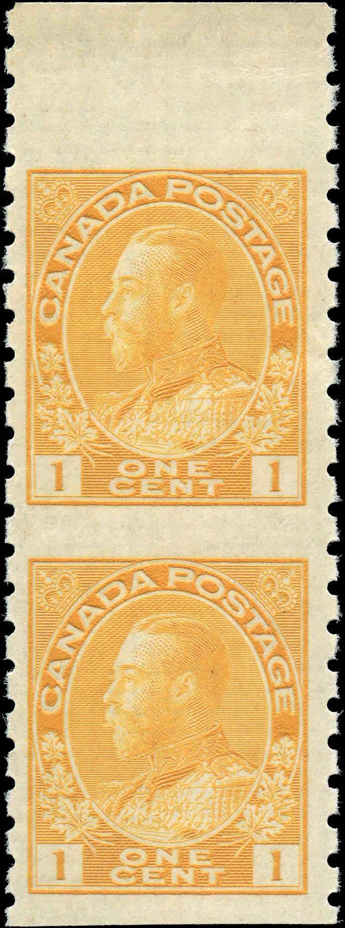 Canada #126a, Admiral Issue, F-VF, MNH