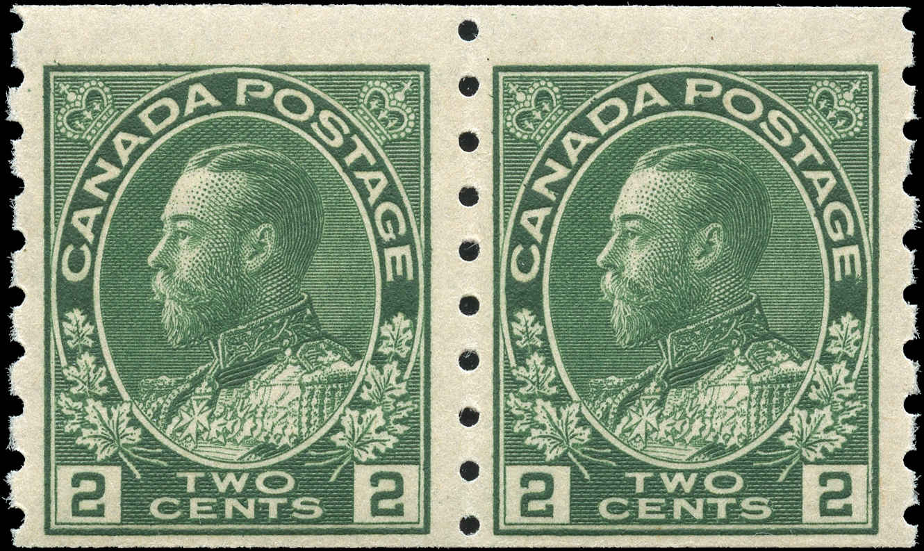 Canada #128, Admiral Issue, F+, MNH