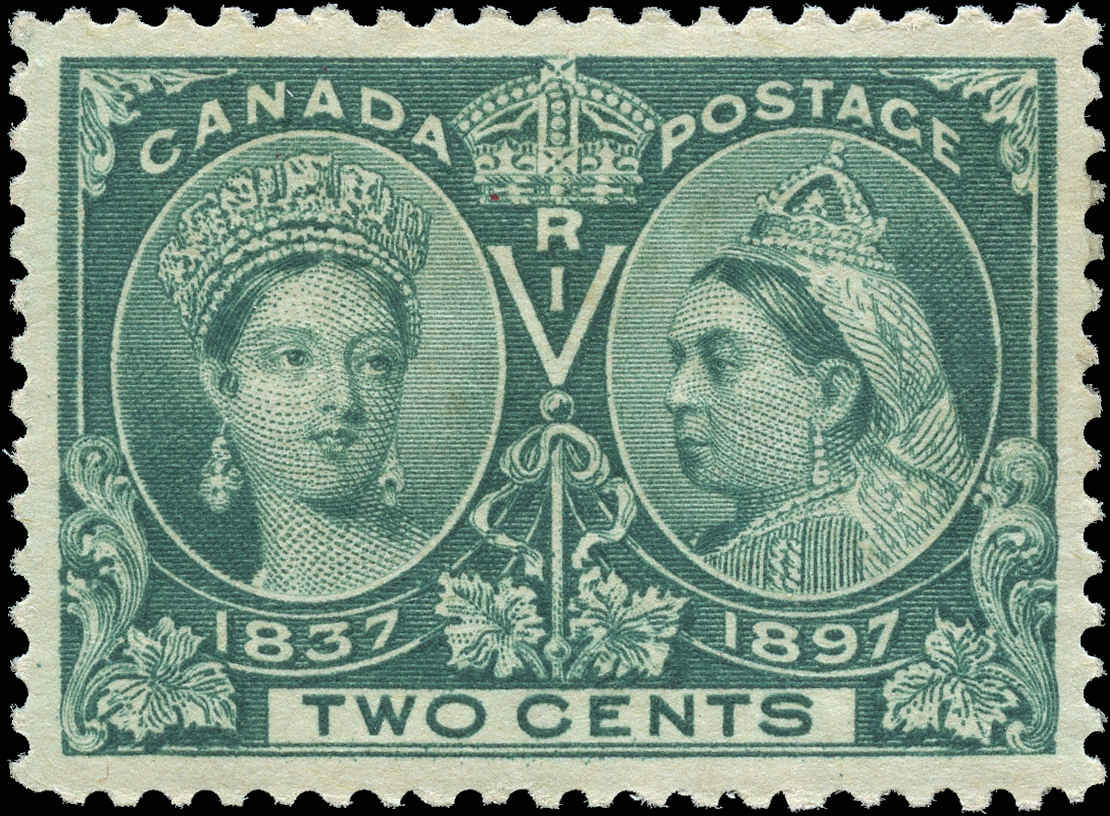 Canada Stamp, ##52, Jubilee Issue, VF, Mint H