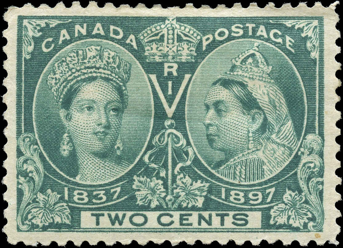 Canada ##52, Jubilee Issue, F-VF, MH