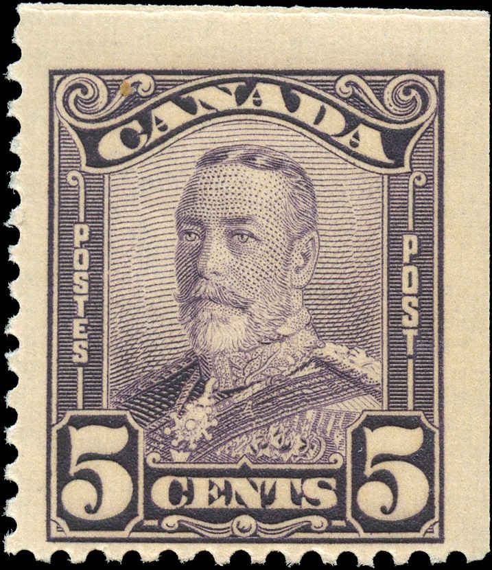 Canada #153as, Scroll Issue, F+, MH