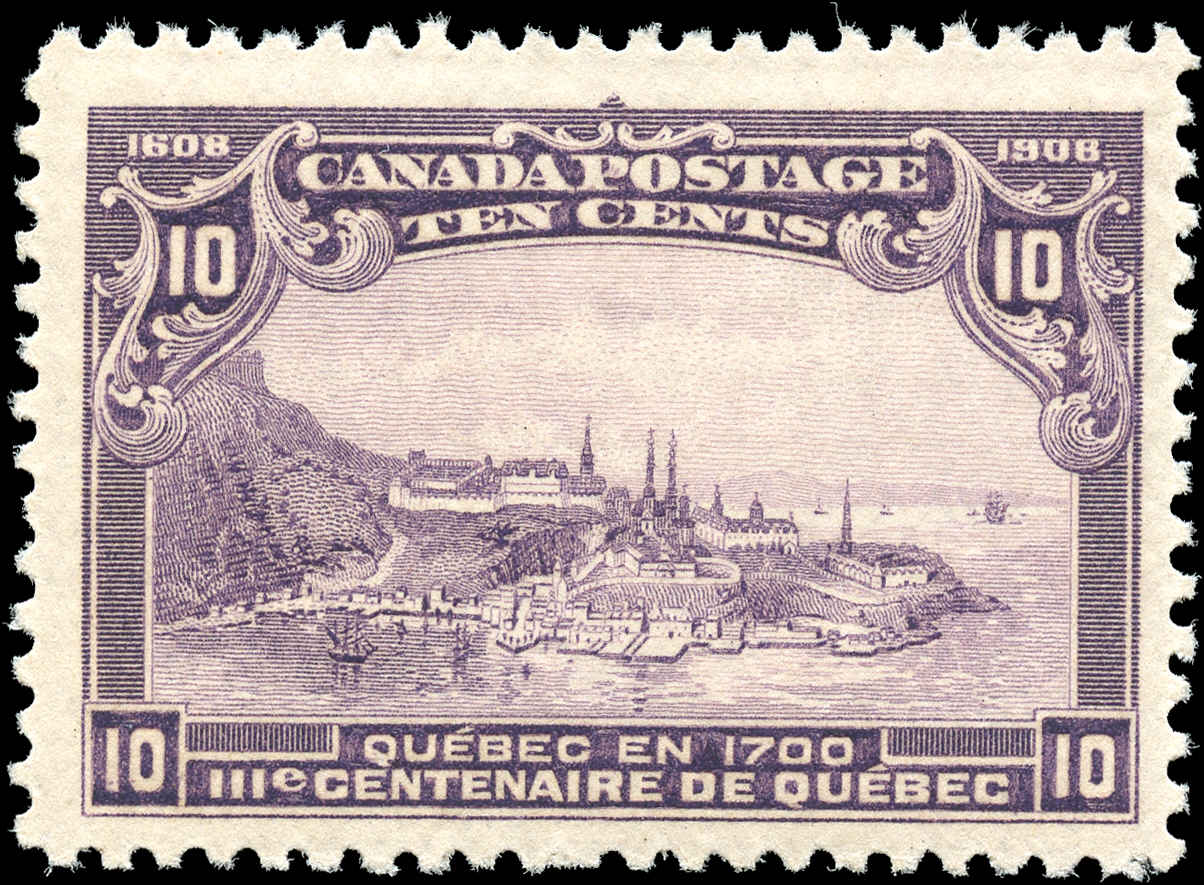 Canada #101, Tercentenary Issue, F-VF, MH