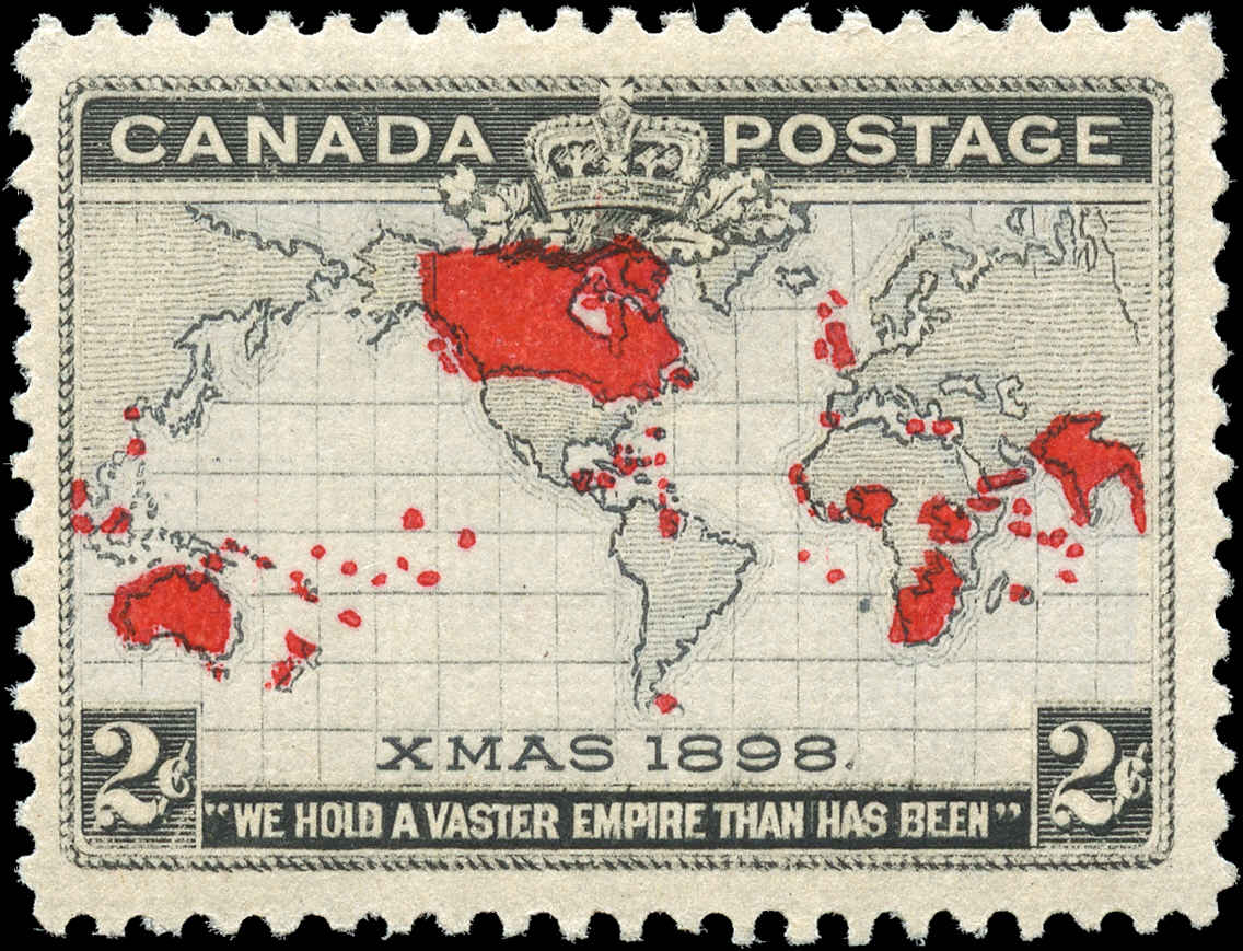 Canada ##85, Map Issue, F-VF, MH