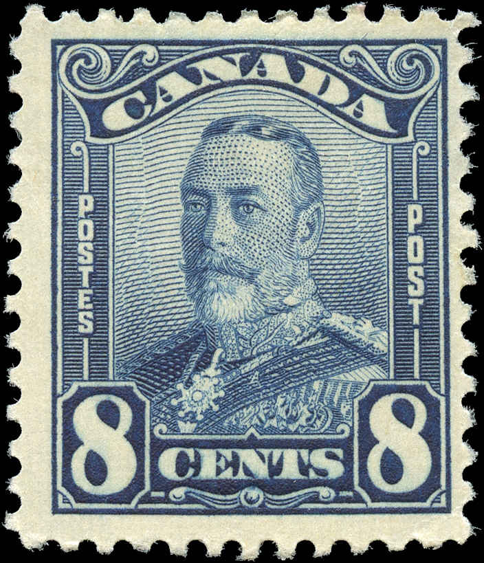 Canada #154, Scroll Issue, F+, MH