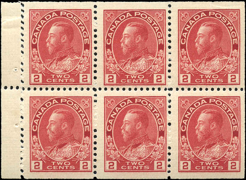 Canada #106a, Admiral Issue, F+, MNH