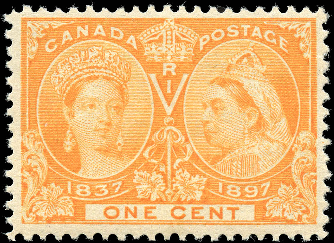 Canada ##51, Jubilee Issue, F-VF, MH