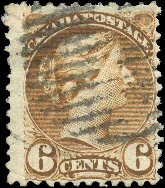 Canada ##39, Small Queen Issue, F, Used