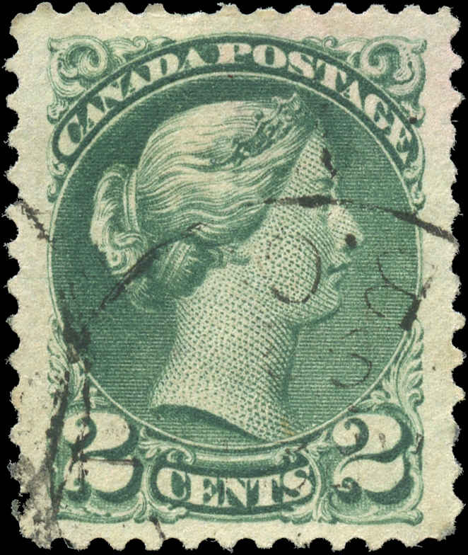 Canada ##36, Small Queen Issue, F-VF, Used