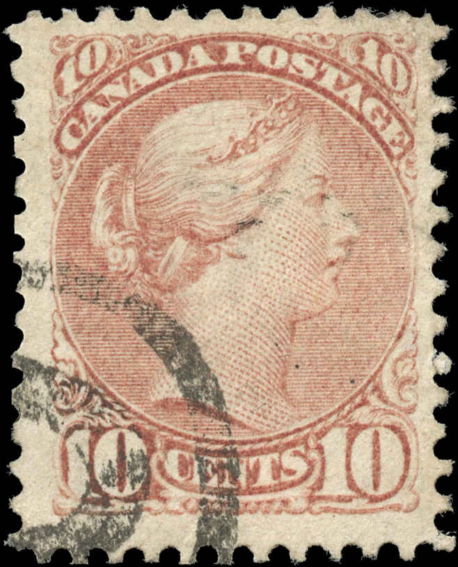 Canada ##45a, Small Queen Issue, F+, Used