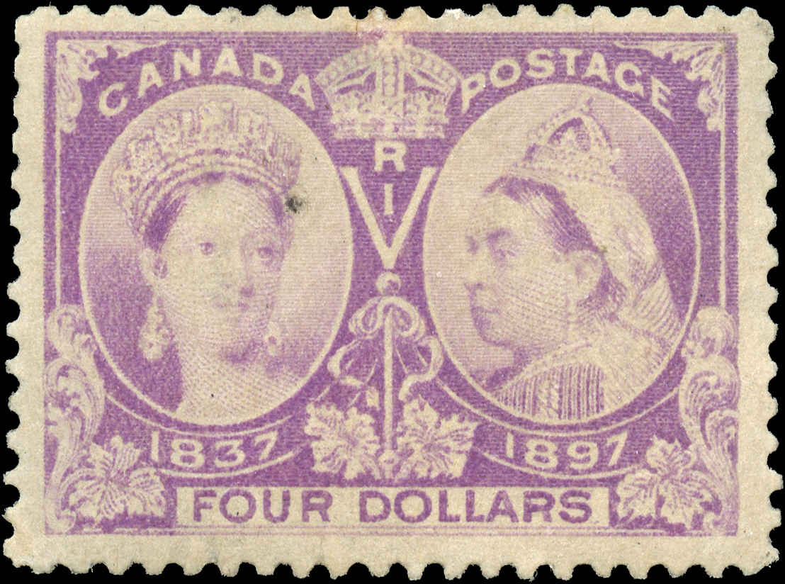 Canada ##64 Jubilee Stamp F+ Mint H