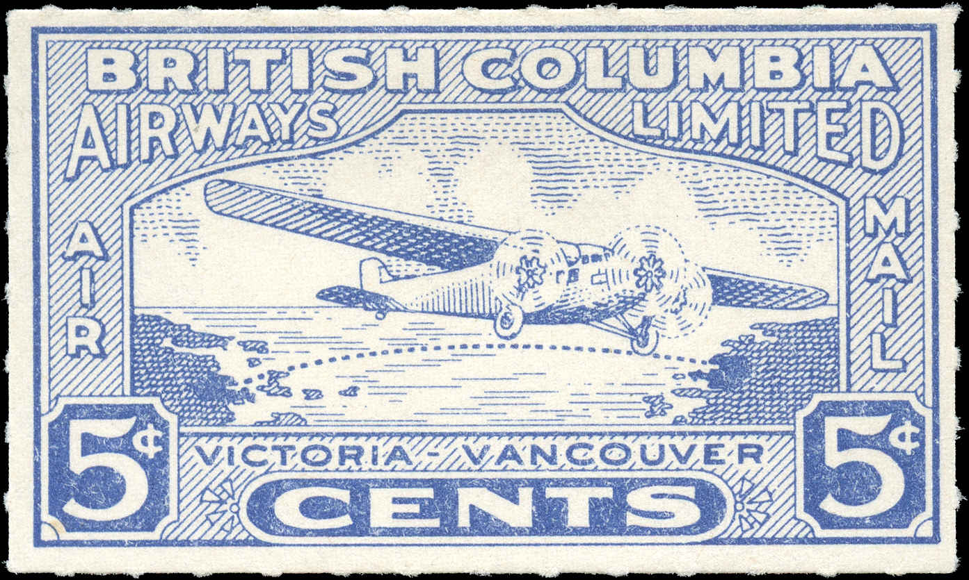 Canada #CL44, Air Post Semi-Offl, F-VF, MH