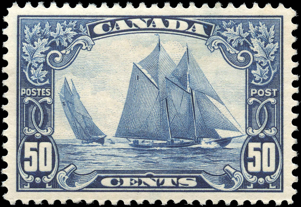 Canada #158, Scroll Issue, VF, MH