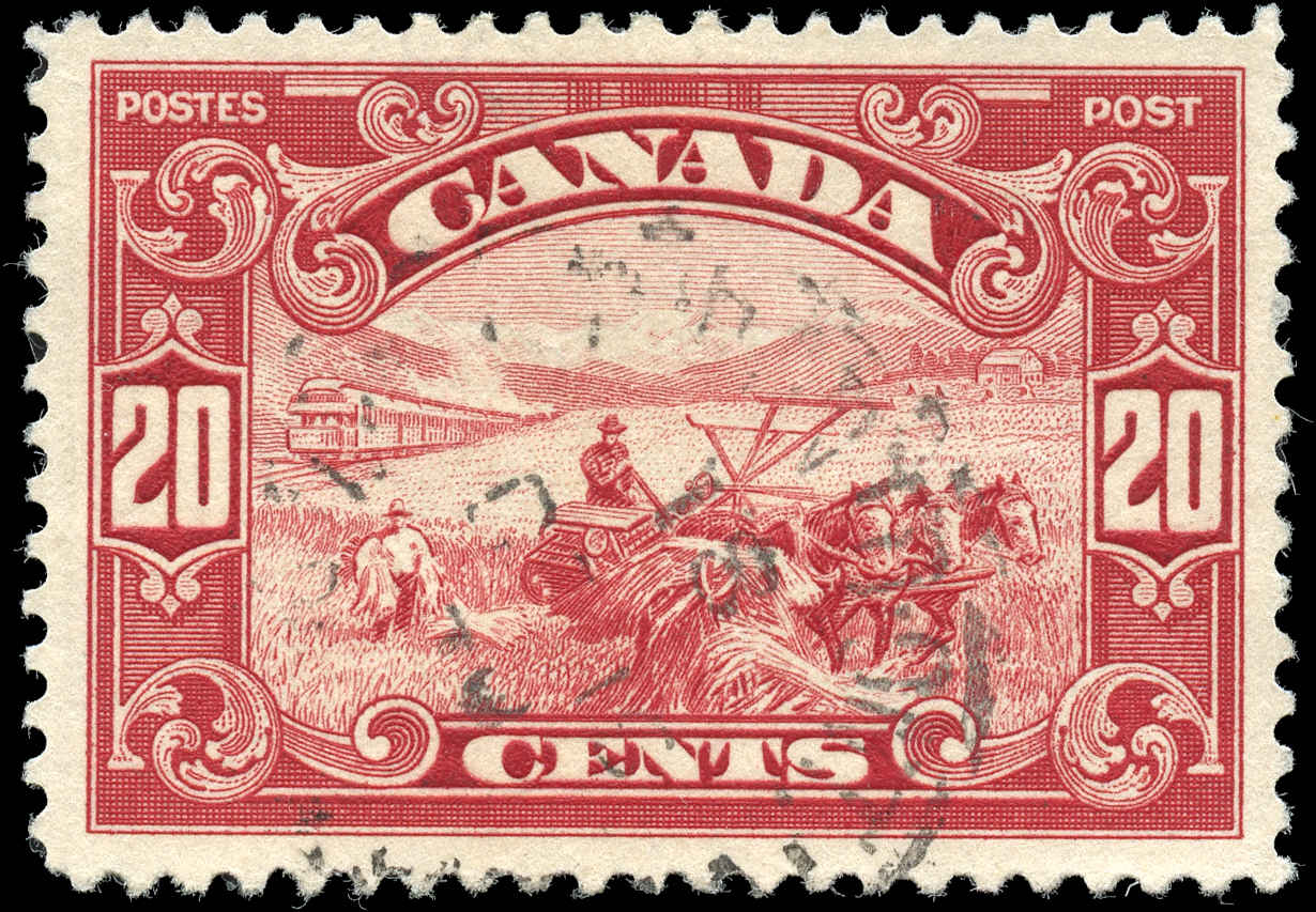Canada #157, Scroll Issue, F-VF, Used