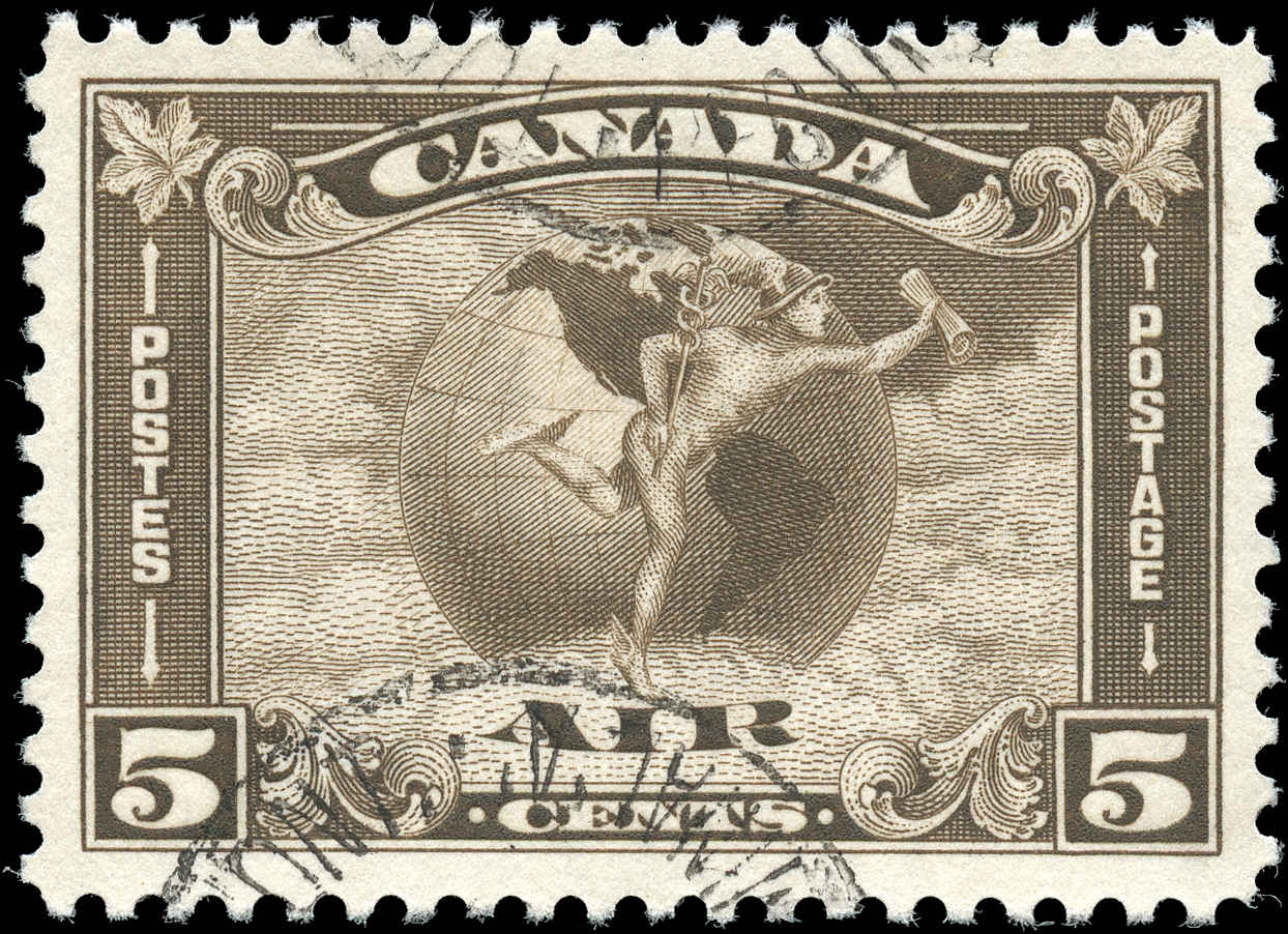 Canada #C2, Airmail Issue, F-VF, Used