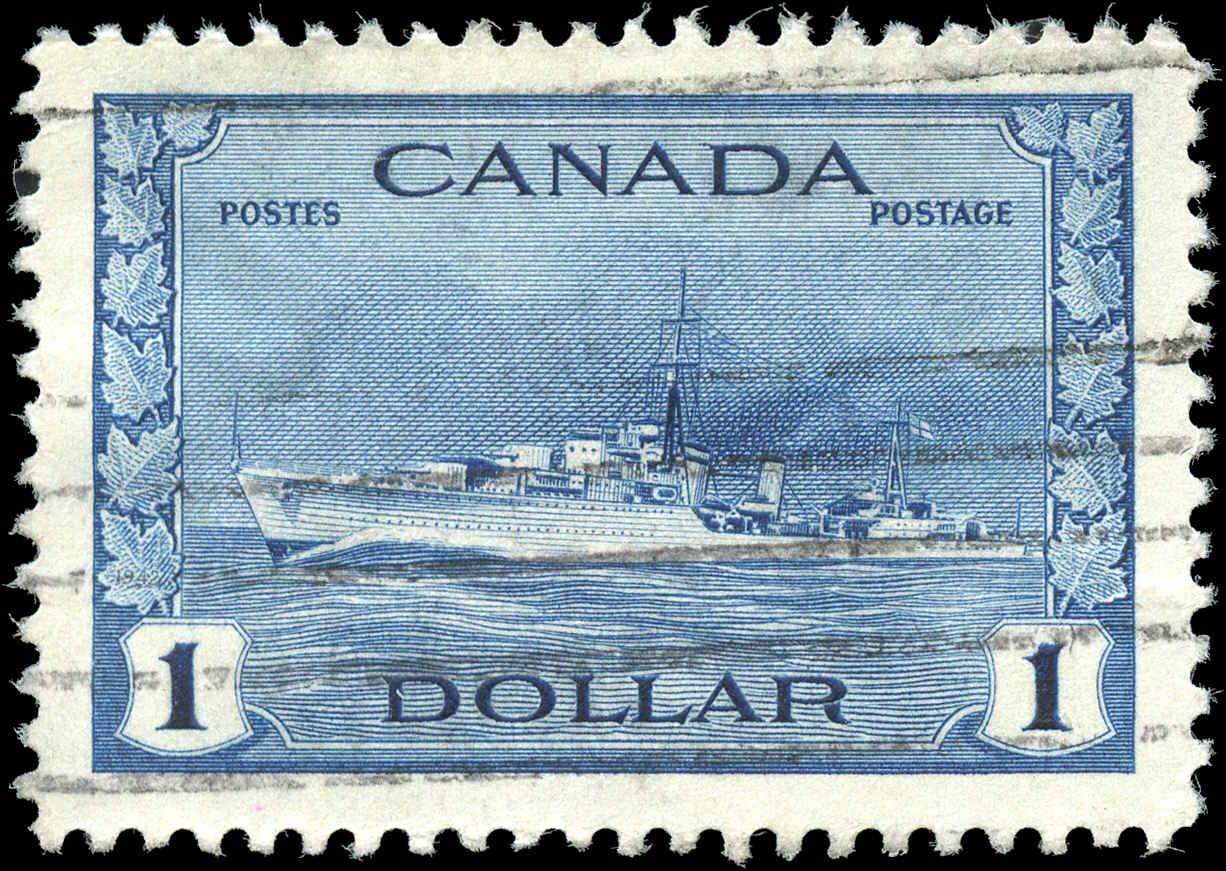 Canada #262, War Issue, VF, Used