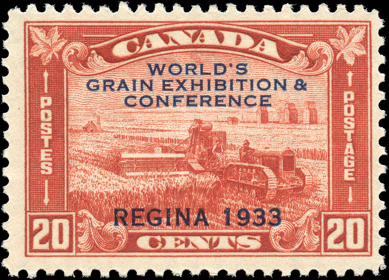 Canada #203, Grain Issue, F+, MNH