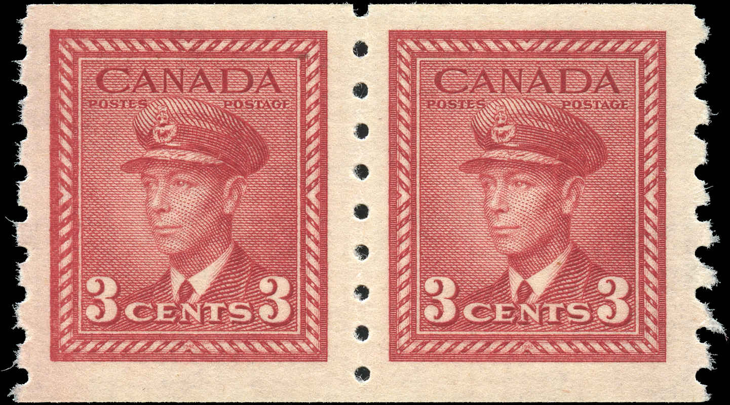 Canada #265, War Issue Coil, VF, MNH