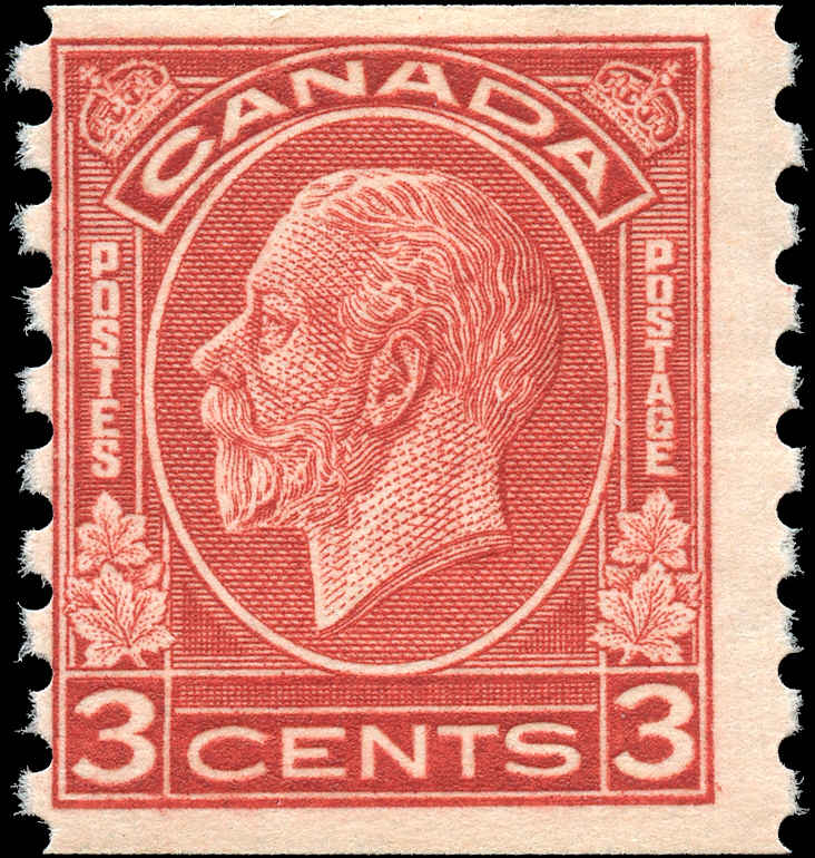 Canada #207, Coil Medallion Issue, F, MNH